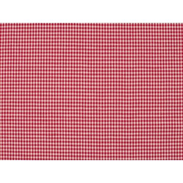 Boerenbont stof - Rood - 8 meter