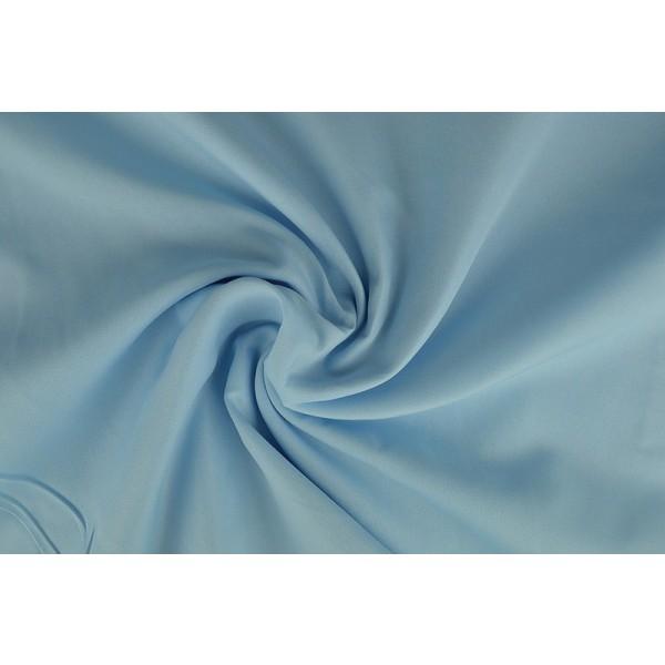 Brandvertragende texture stof baby blauw - 300cm breed