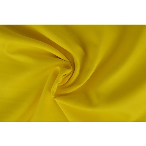 Brandvertragende texture stof geel - 300cm breed