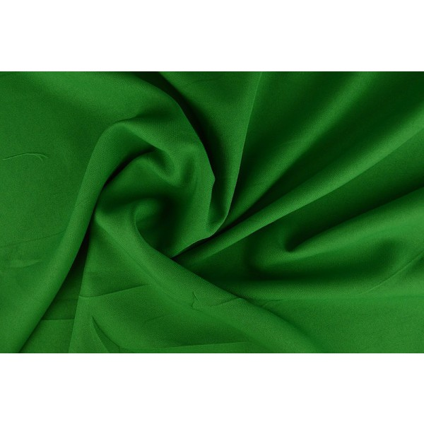 Brandvertragende texture stof groen - 300cm breed