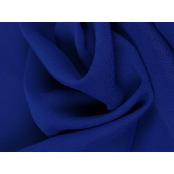 Chiffon stof - Donkerblauw