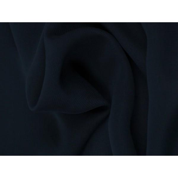 Chiffon stof - Marineblauw