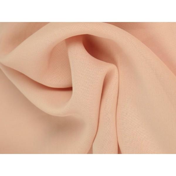 Chiffon stof - Oud roze
