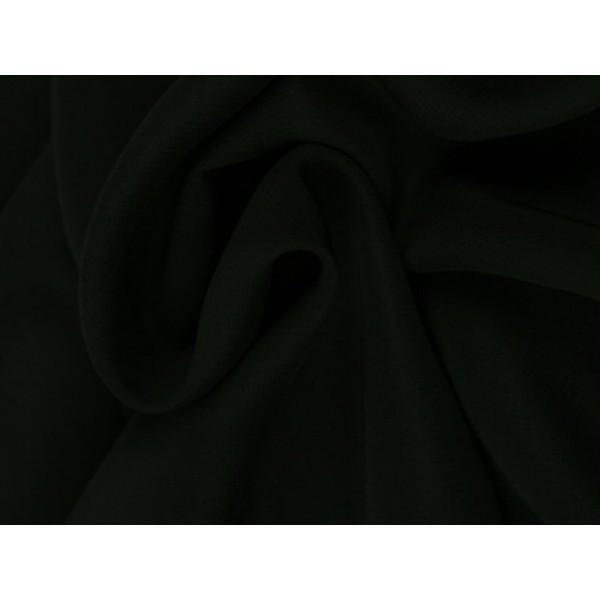 Chiffon stof - Zwart
