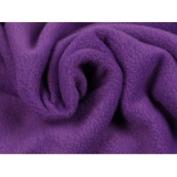 Fleece stof - Paars