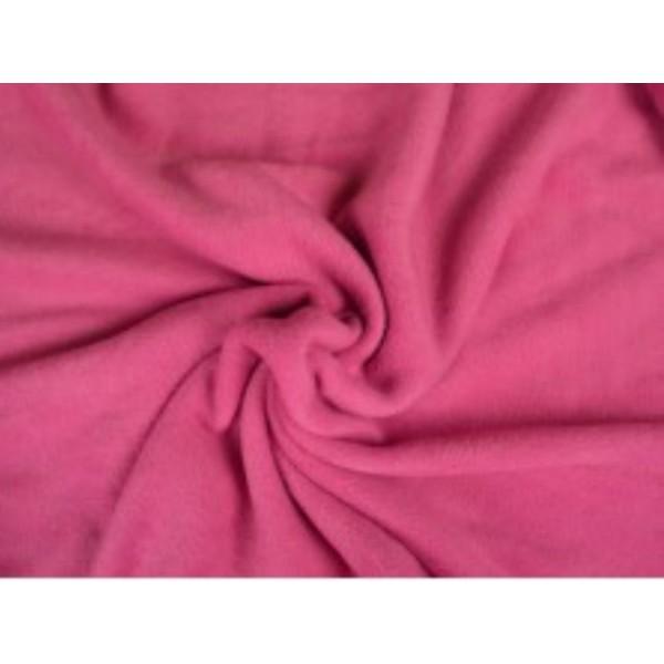 Fleece stof - Roze
