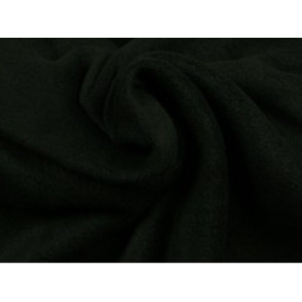 Fleece stof - Zwart
