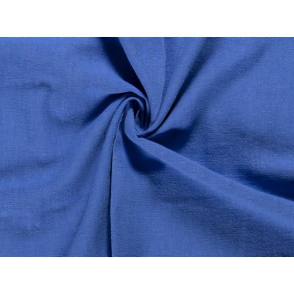 Linnen gewassen cobaltblauw