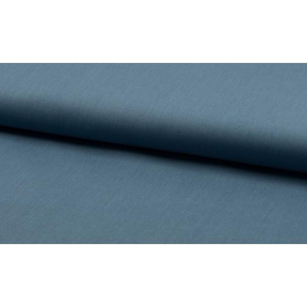 Katoen blauw - katoen op rol - 100% katoen stof