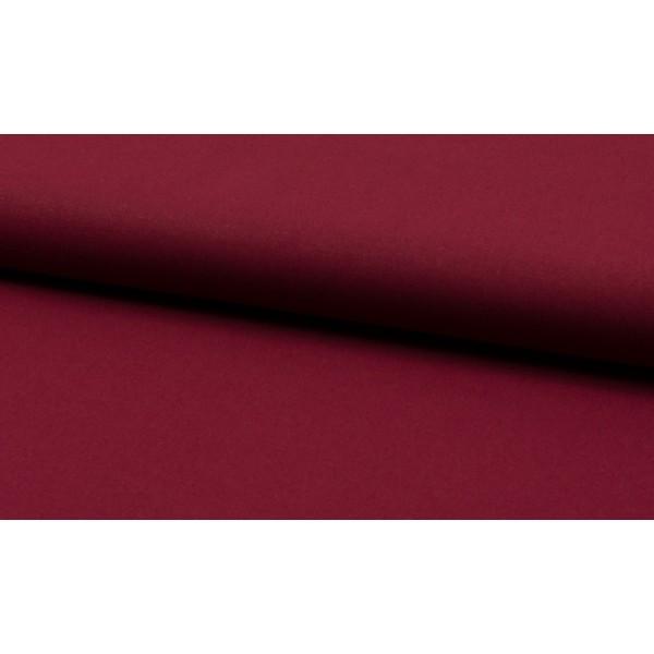 Katoen bordeaux rood - katoen op rol - 100% katoen stof