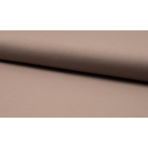 Katoen lichttaupe - katoen op rol - 100% katoen stof