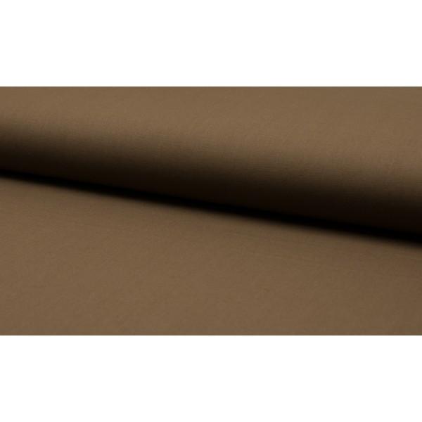 Katoen lichtbruin - katoen op rol - 100% katoen stof