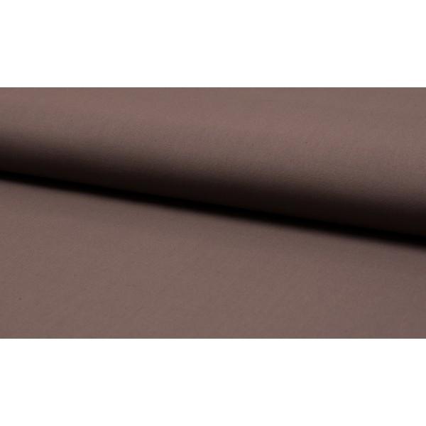 Katoen taupe - katoen op rol - 100% katoen stof