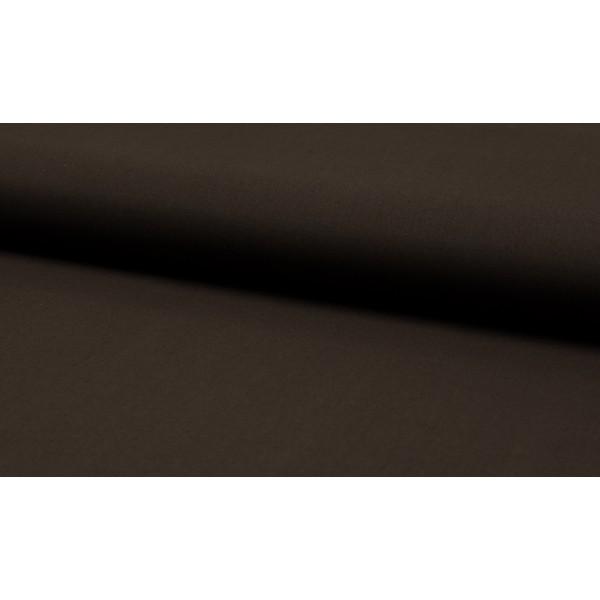 Katoen donkerbruin - katoen op rol - 100% katoen stof