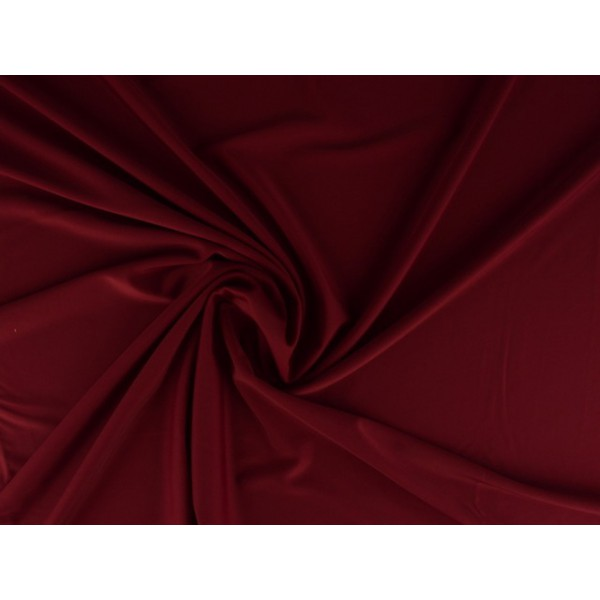 Lycra stof bordeaux rood - Badpakkenstof