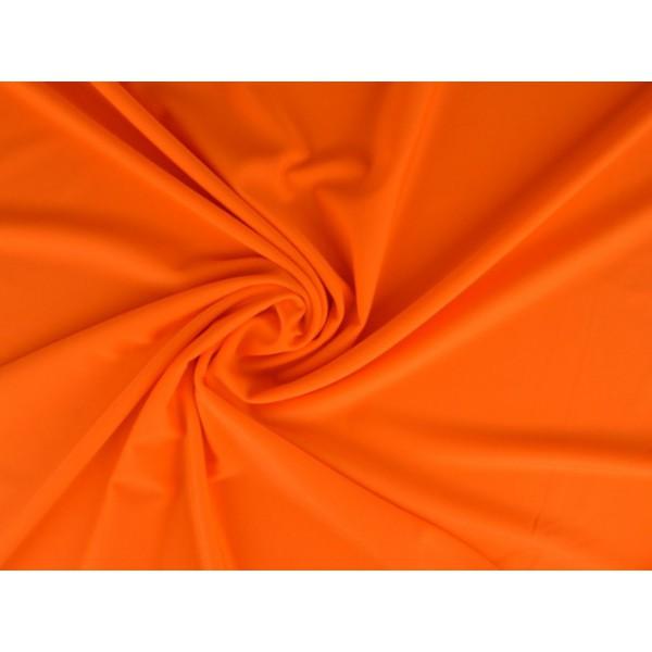 Lycra stof oranje - Badpakkenstof