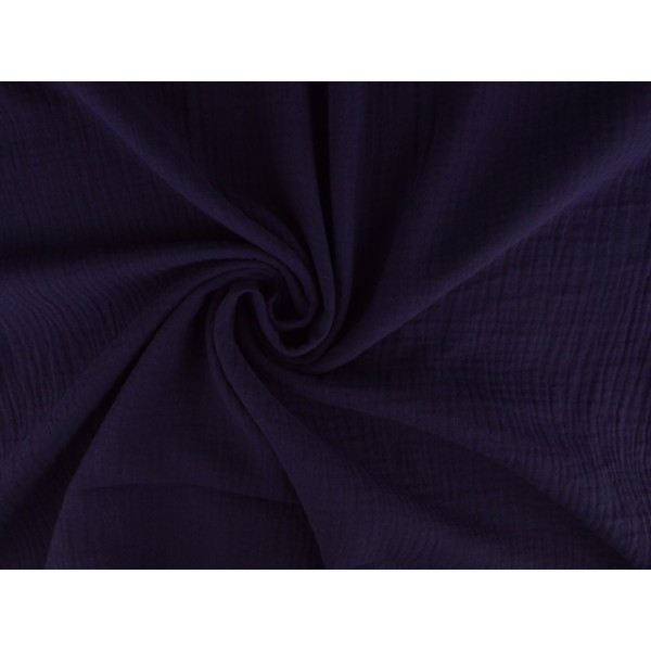 Mousseline stof paars - Katoenen stof op rol