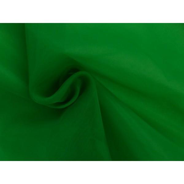 Organza stof - Groen