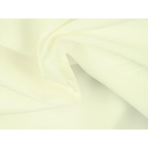 Poplin katoen gebroken wit - Katoenen stof op rol