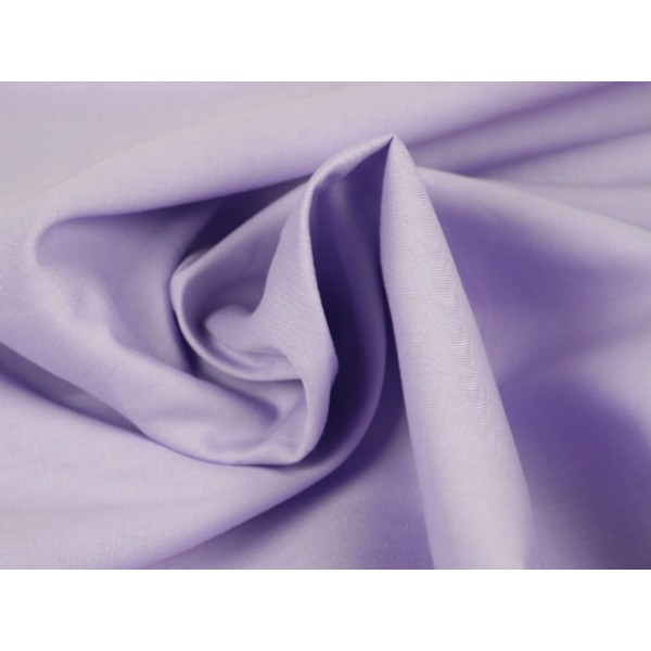 Poplin katoen lavendel - Katoenen stof op rol