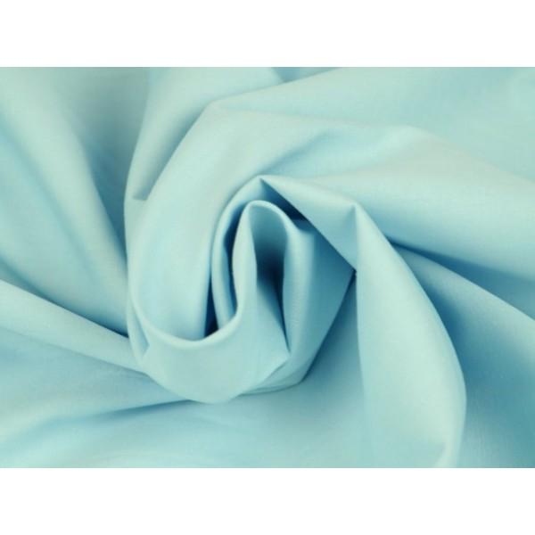 Poplin katoen lichtblauw - Katoenen stof op rol