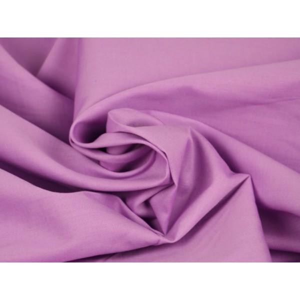 Poplin katoen lila - Katoenen stof op rol