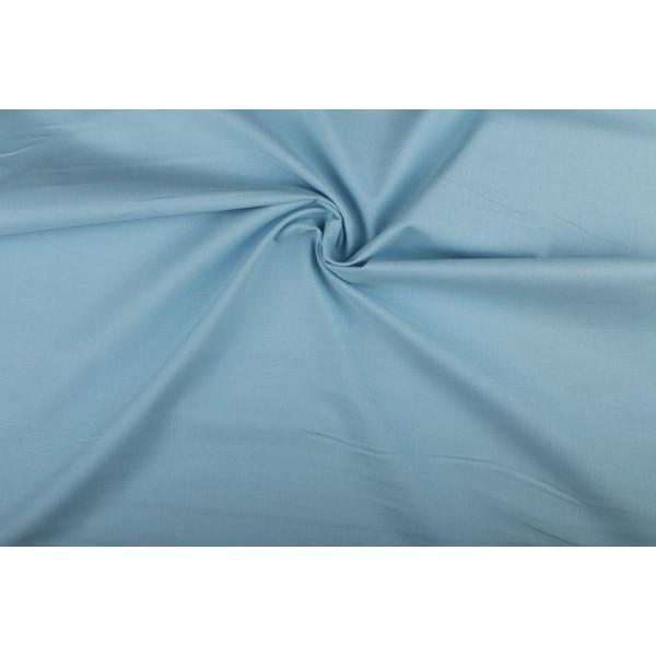 Katoen middenblauw - Katoenen stof rol