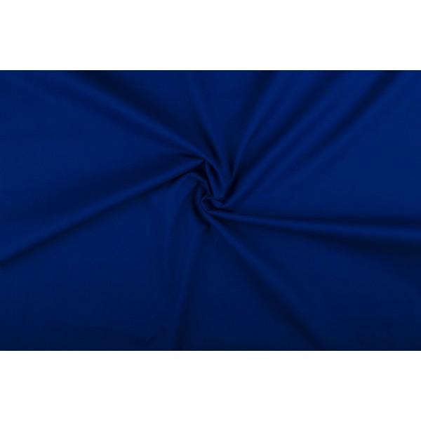 Katoen blauw - Katoenen stof rol
