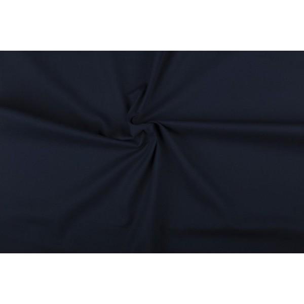 Katoen marineblauw - Katoenen stof rol