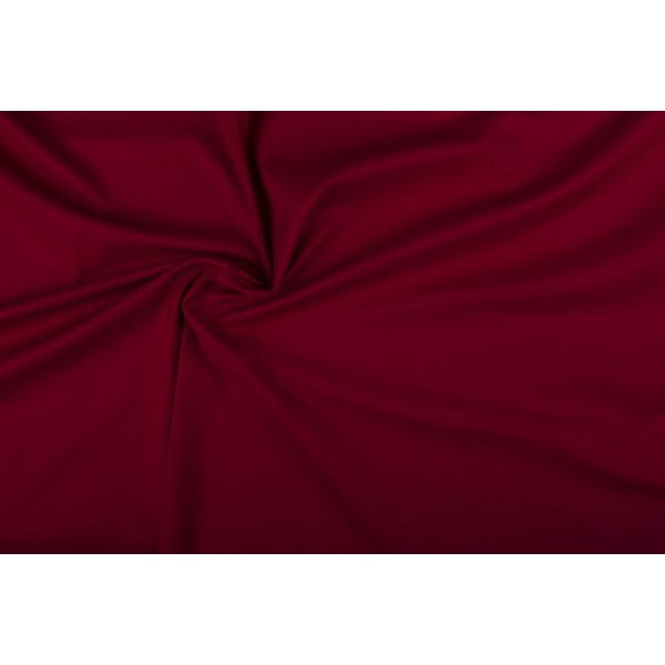 Katoen bordeaux rood - Katoenen stof rol