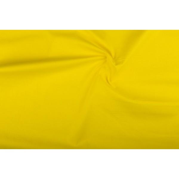 Katoen geel - Katoenen stof rol