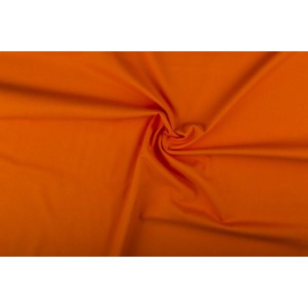 Katoen oranje - Katoenen stof rol