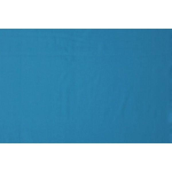 Katoen waterblauw - Katoenen stof rol