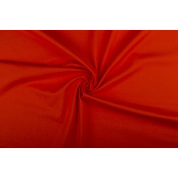 Katoen oranjerood - Katoenen stof rol