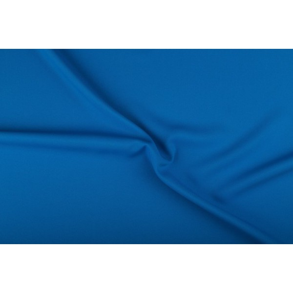 Texture 50m rol - Waterblauw - 100% polyester