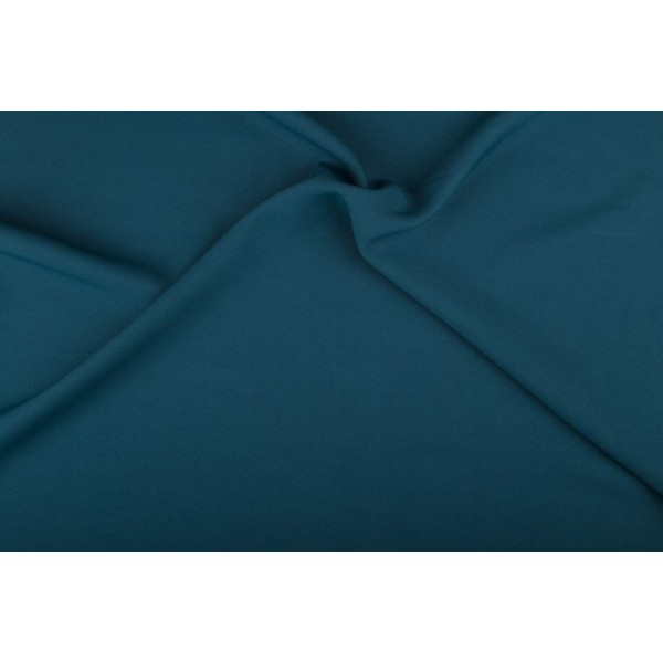 Texture 50m rol - Petrol - 100% polyester