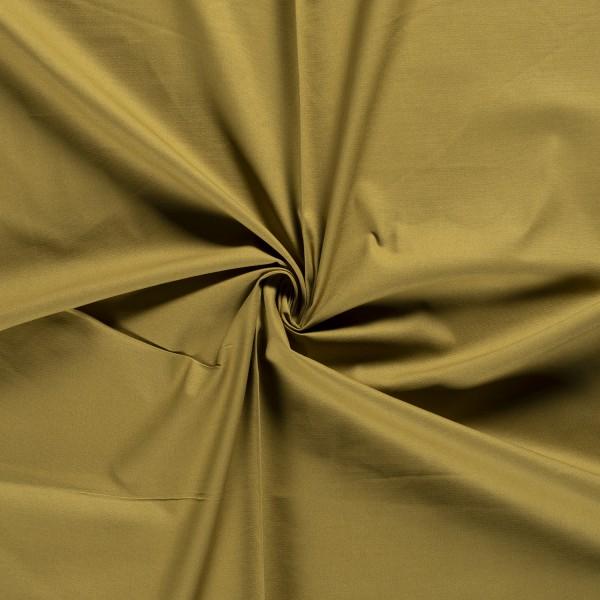 Khaki groen canvas stof - 100% katoen