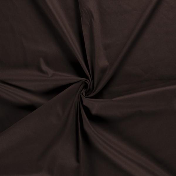 Canvas stof - Donkerbruin - 100% katoen