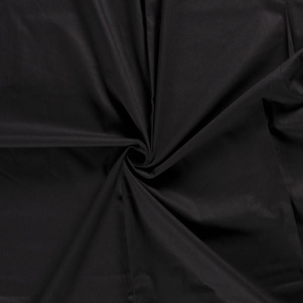 Canvas stof - Zwart - 100% katoen