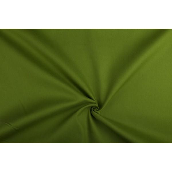 Canvas stof - Legergroen - 100% katoen