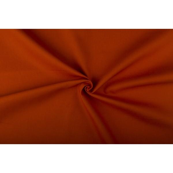 Canvas stof - Donkeroranje - 100% katoen