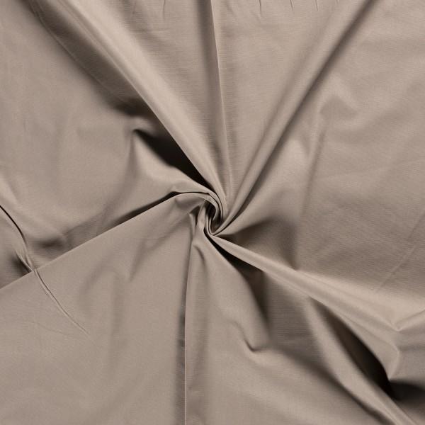 Canvas stof - Lichttaupe - 100% katoen
