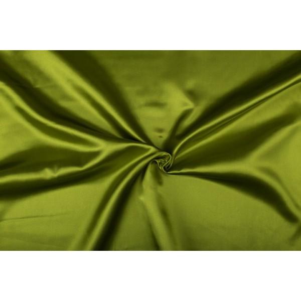 Satijn 50m rol - Lichtgroen - 100% polyester