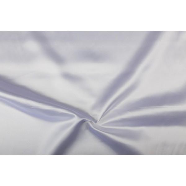 Satijn 50m rol - Wit - 100% polyester