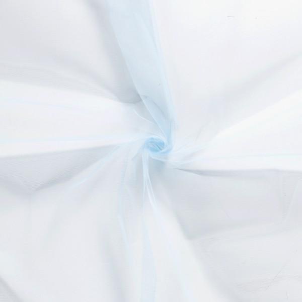 Tule blauw - 40m rol