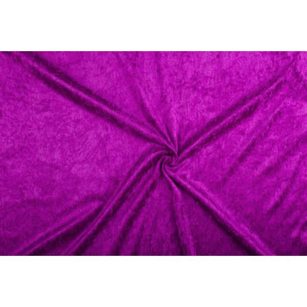 Velours de panne paars