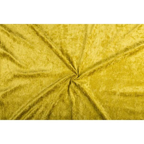 Velour de panne goud
