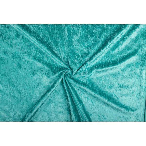 Velours de panne zeeblauw