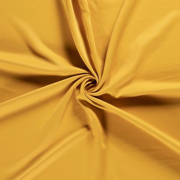 Gordijnstof verduisterend - Okergeel - 30m black-out stof