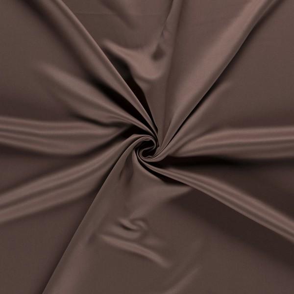 Gordijnstof verduisterend - Bruin - 30m black-out stof